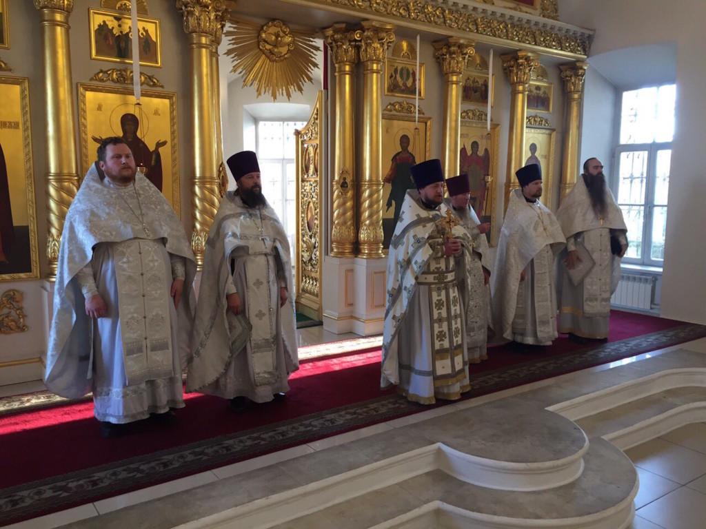 Престольный праздник Михаило-Архангельского храма